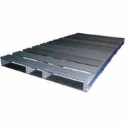 Rackable Extruded Plastic Pallet 96x48 2-Way Entry 3000 Lb Fork Capacity