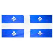 3 x 6 ft Nylon Quebec Flag
