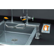 Guardian Equipment Eye Wash, Deck Mounted, 90-Degree Swivel, Right Hand Mounting, G1806
