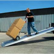 """B & P Aluminum Truck Walk Ramp Hook Style PRP-2606-F 26""""W x 6'L"""