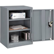 "Global™ Wall Storage Cabinet Assembled 18""W x 12""D x 26""H Gray"