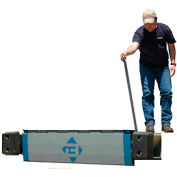 "Bluff® EZ-Pull Refrigerated Truck Edge of Dock Leveler 20EP66-R 66""W 20,000 Lb."