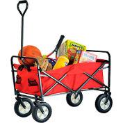 Sandusky® Light Duty Folding Wagon Cart FCW3622 150 Lb. Capacity
