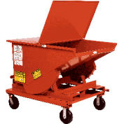8 x 2 Steel Caster Kit for MECO Self Dumping Hoppers
