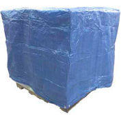 """Harpster of Philipsburg 5 Sided Pallet Covers, 48""""W x 60""""D x 48""""H, Blue, 5/Pack"""