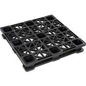 Rackable Plastic Pallet 45 X 45, 2600-5300 Lbs Cap