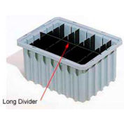 Akro-Mils Long Divider 42223 For Akro-Grids Dividable Grid Containers 33223 Pack of 6