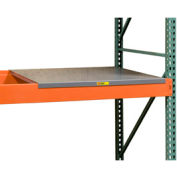 "Pallet Rack - Solid Steel Deck 46"" W X 42"" D"