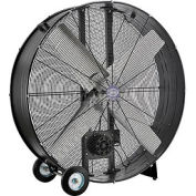 "48"" Drum Blower Fan - Portable - Belt Drive - 19500 CFM - 1-1/2 HP"