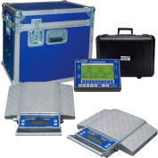 Intercomp 181060-RFX PT300™ Wireless Solar Wheel Load Scale Sys w/6 Pads, 120000 x 20 lb