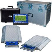 Intercomp 181542-RFX PT300DW Wireless Solar Wheel Load Scale Sys w/4 Dbl Wide Pads, 40000 x 5lb