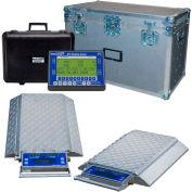 Intercomp 181563-RFX PT300DW Wireless Solar Wheel Load Scale Sys w/6 Dbl Wide Pads, 3000 x  5 lb