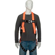 Miller® Titan Non-Stretch Harness, Tongue Buckle Legs, L/XL