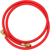 "Yellow Jacket® 72"" Red PLUS II™ 1/4"" Hose With SealRight™ 22672"