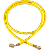 "Yellow Jacket® 72"" Yellow PLUS II™ 1/4"" Hose With SealRight™ 22072"