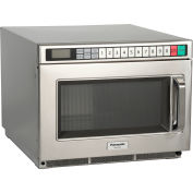 Panasonic® NE-17521, Commercial Microwave, 0.6 Cu. Ft., 1700 Watt, TouchPad