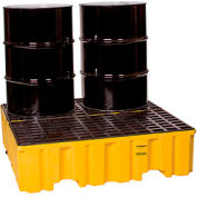 Eagle 1640 4 Drum Spill Containment Pallet