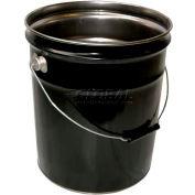 Vestil 5 Gallon Open Head Steel Pail PAIL-STL-RI - Rust Inhibitor Lining