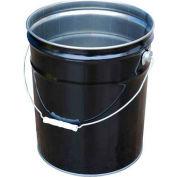 Vestil UN Rated 5 Gal Steel Open Head Pail PAIL-STL-RI-UN, Rust Inhibitor Lining
