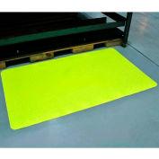 "Diamond-Dek Sponge Anti-Fatigue Mat 36""W Full 75' Roll High Visibility Yellow"