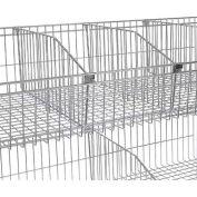 """Nexel Wire Shelf Basket Divider 24"""""""