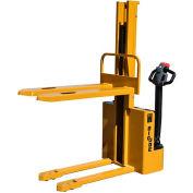"Big Joe® S22 Fully Powered Straddle Stacker 2200 Lb. 62"" Lift Forks Over"