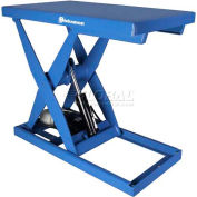 Bishamon® OPTIMUS Lift3K Power Scissor Lift Table 48 x 28 3000 Lb. Cap. Foot Control L3K-2848