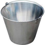 Vestil Stainless Steel Bucket BKT-SS-325 3-1/4 Gallon Capacity