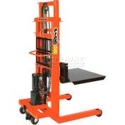 "PrestoLifts™ AC Powered Lift Stacker EPF778 78"" Lift 1000 Lb. Cap."