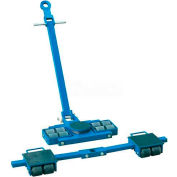 Steerable machines mobiles Roller Skate Kits capacité de 12 tonnes