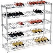 """Wine Bottle Rack - 65 Bottle 48"""" x 14"""" x 42"""""""
