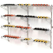 "Wine Bottle Rack - Wall Mount 72 Bottle 72"" x 14"" x 54"""