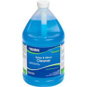Global Industrial™ Glass & Mirror Cleaner - Case Of Four 1 Gallon Bottles
