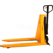"Wesco® Non-Telescoping Manual High Lift Pallet Truck 272463 2200 Lb. 27"" Forks"