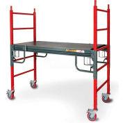 """Metaltech BuildMan Grade Baker Style 6' Utility Scaffold W/ 6"""" Casters - I-BMSS"""