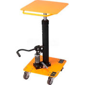 Wesco® Value Lift Work Positioning Post Lift Table 272469 200 Lb. Cap.