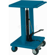 Wesco® Work Positioning Post Lift Table Foot Control 260061 1000 Lb. Cap.