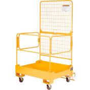 Plateforme  de maintenance pliante pour chariot élévateurGlobal Industrial™,36 x36