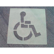 Stencil Handicapped Parking, Heavy Duty, PMS50