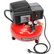 Porter Cable® PCFP02003, 0.8 HP, Hand Carry, 3.5 Gallon, Pancake, 135 PSI, 2 CFM, 1-Phase 120V