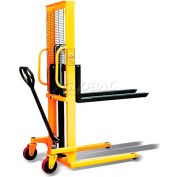 Hand Pump Operated Lift Truck 2200 Lb. Cap. - Single Faced Pallets & Skids Only