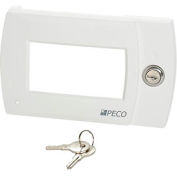 PECO Locking Thermostat Cover, Key Security For Performance Pro 4000 Series Thermostats