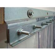 """Chase Doors 36"""" 14 ga. Steel Strip Door Mounting Hardware E5GHW2829C36HD"""