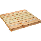 "New Hard Wood Pallet 48"" x 48"" x 4-1/2"""