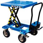Vestil Pneumatic Tire Hydraulic Elevating Cart CART-PN-400 400 Lb. Capacity