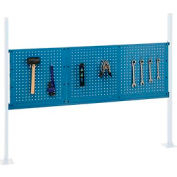 """Mounting Kit with 18""""W and 36""""W Pegboards for 60""""W Workbench -Blue"""