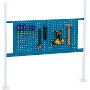 Trousse d'installation avec panneau d'accrochage de36 po pour établi de48 po - Bleu