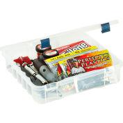 """Plano ProLatch™ XL StowAway® Compartment Box, 14""""W x 14-3/8""""D x 3-1/4""""H, Clear - Pkg Qty 2"""