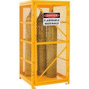 Cylinder Storage Cabinet Single Door Vertical, 9 Cylinder Capacity, Assembled