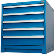 "Cabinet Base for Global™ Modular Drawer Cabinet 30""Wx27""D, Blue"